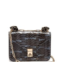 Panther-embellished mini snakeskin shoulder bag | Valentino | MATCHESFASHION.COM US