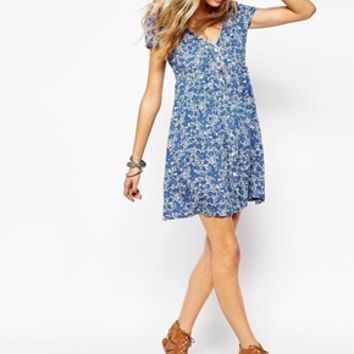 Denim & Supply By Ralph Lauren Floral Babydoll Dress