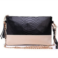 2016 split Leather Cowhide Small Chain Clutch Evening Coin Purse Shoulder  Messenger Handbags
