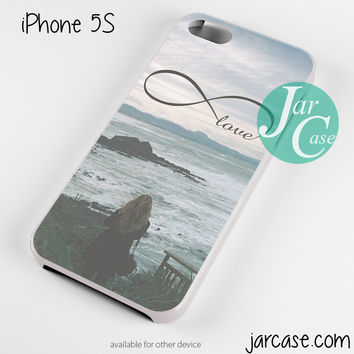 Waiting For infinity Love Phone case for iPhone 4/4s/5/5c/5s/6/6 plus