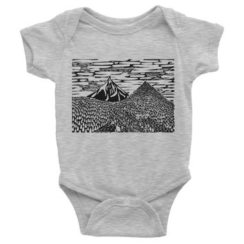 Pacific Northwest Bodysuit - Gray