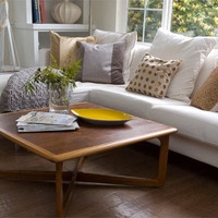 Mid century Lane cofee table with markings by inspireyourlifestyle