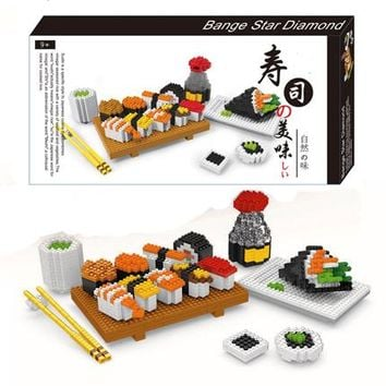 Sushi Block Play Set