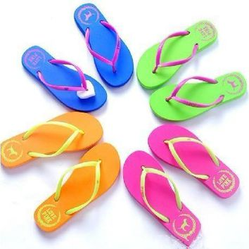 Victoria's Secret PINK dog beach sandals sandals slipper female female slippers