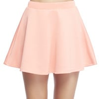 Scuba Skater Skirt | Wet Seal!