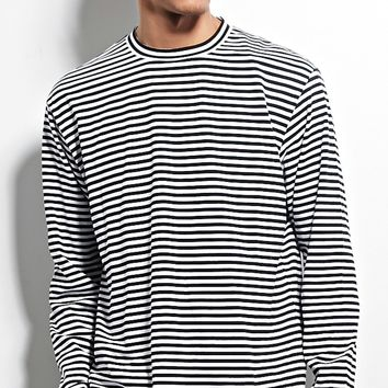 Reason Stripe Long-Sleeve Tee