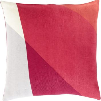 Teori Throw Pillow Red, Red