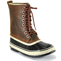 Sorel - 1964 Premium  - Tan Leather Waterproof Duck Boot