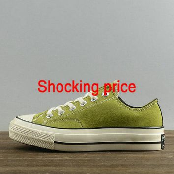 Discount Women Converse Chuck Taylor All Star 1970s Low Apple Green White 154944 sneaker
