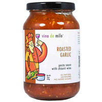 Roasted Garlic Pasta Sauce by Vino de Milo 16 oz