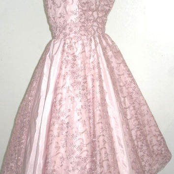 One of a kind 50s style cocktail dress in by elegance50s on Etsy