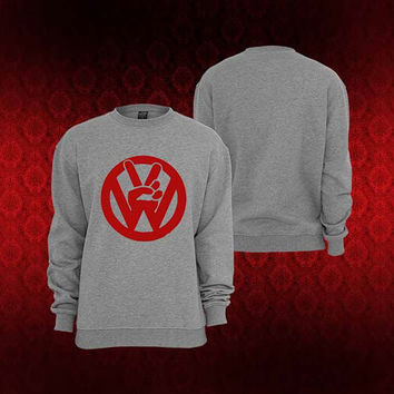 VW peace sweater Sweatshirt Crewneck Men or Women Unisex Size