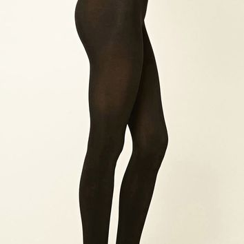 Opaque Stirrup Tights