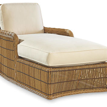 Rafter Chaise, Canvas Sunbrella - Celerie Kemble - Brands | One Kings Lane