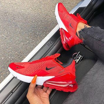 low priced 55bb7 5259a Nike Air Max 270 men and women The air cushion shoes