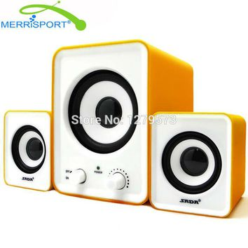 2.1 Sound System PC Home Desktop Audio Stereo