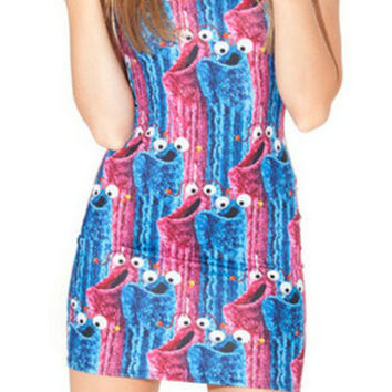 Cookie Monster Party Dress