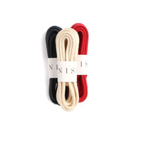 Waxed Cotton Shoelaces 36""