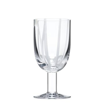 Contrast Wine Glass - White Set of 4