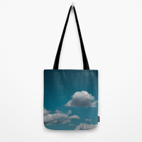 Sky and clouds 04 Tote Bag by VanessaGF