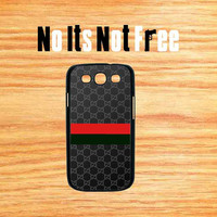 Gucci Samsung Galaxy S3 red green iphone5 iphone4 iphone4s hard case ipad mini