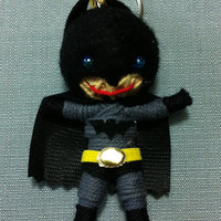 Batman Dark Knight Voodoo String Doll Funny Keyring Keychain Key Ring Key Chain Bag Car