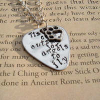 Ed Sheeran A Team Hand Stamped Guitar Pick by TheSpiralGoddess