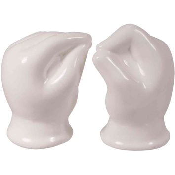 Salt & Pepper Shaker Set - Pinch & Dash
