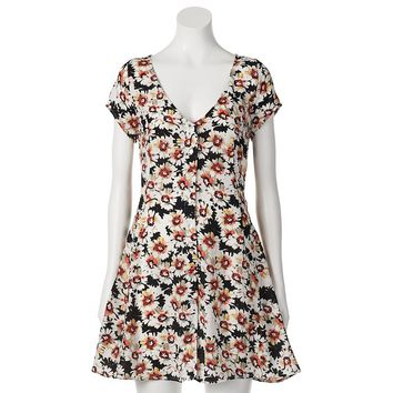 Crepe Floral Dress from S.o. R.a.d. Collection by Awesomeness TV