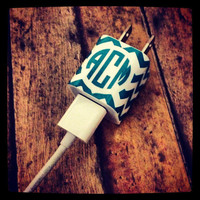 Monogrammed/Personalized iPhone iPad iPod Charger by OneBellaVita