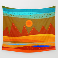 Textures/Abstract 143 o.c. Wall Tapestry by ViviGonzalezArt