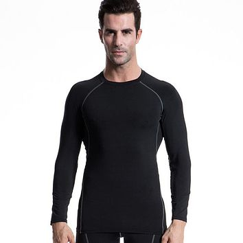 Men's Boy Compression Body building Base Layer Jerseys Under Top Long Sleeve T-Shirts PRO Skins Gear Cool Dry