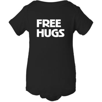 """""""Free Hugs"""" Baby Onesuit Outfit"""