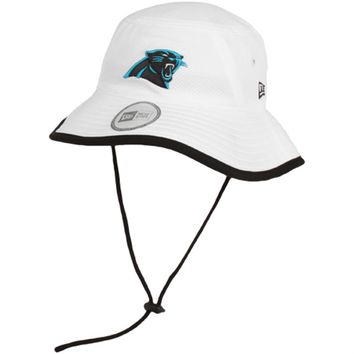 New Era Carolina Panthers Training Bucket Hat - White