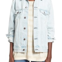 Thread & Supply Oversize Denim Jacket | Nordstrom