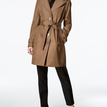 "Calvin Klein ""Truffle"" Women's Trench Coat 60% OFF Retail!"