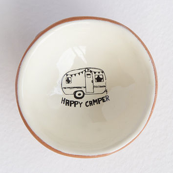 Happy Camper Tiny Trinket Dish