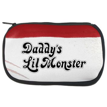 Daddy's Lil Monster Makeup Bag