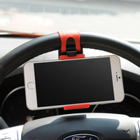 Universal Car Steering Wheel Phone Mount Holder