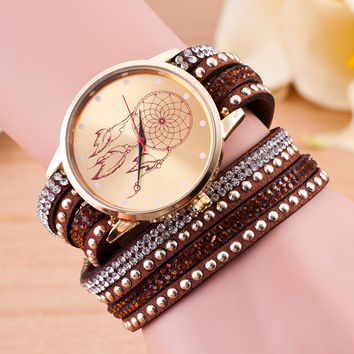 Great Deal Trendy Stylish Designer's Awesome Good Price New Arrival Gift Korean Gold Balloon Ladies Watch [4923237124]