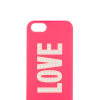 kate spade new york Love iPhone 5 Case in Pink