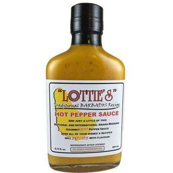 Lottie's Barbados Style Hot Mustard Sauce