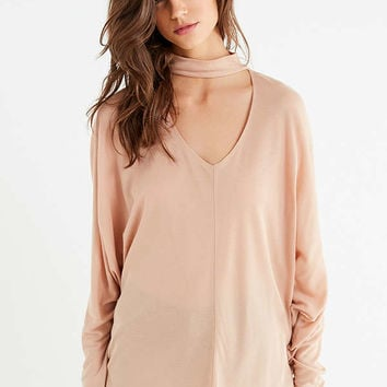 UO Jade Cut-Out Turtleneck Top   Urban Outfitters