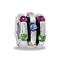 DaVinci Beads Multi CZ Barrel Jewelry