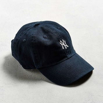 47 Brand NY Micro Logo Baseball Hat - Urban Outfitters