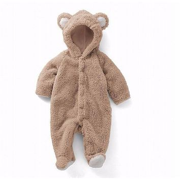 Baby Bear Fleece Onesuit