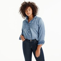 Women's Everyday Chambray Shirt - Women's Shirts | J.Crew
