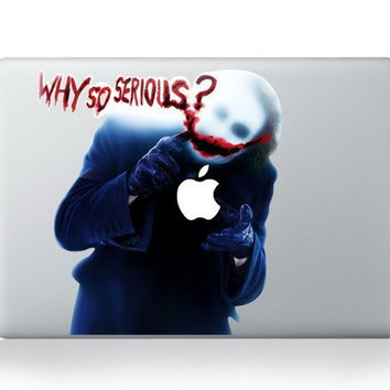 "Batman Joker Laptop Skin Funny Vinyl Decal Sticker Graphic for Apple macbook air 13"" 15 17 inch ,for Mac book Pro13"" inch"