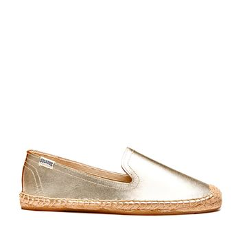 Soludos Smoking Slipper Leather Leather Espadrille