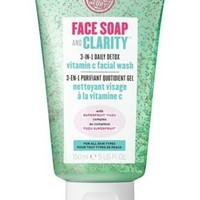 Soap And Glory Face Soap And Clarity 3 In 1 Daily Detox Facial Wash 150ml by curveland